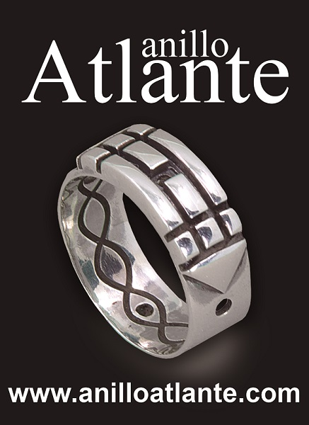 autentico anillo atlantee