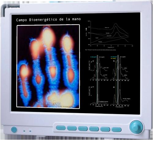 campo bioenergético de la mano